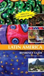 latin america reference guide - Bernan