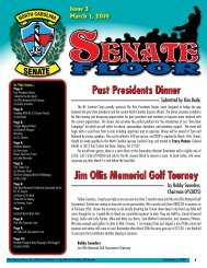 Past Presidents Dinner Jim Ollis Memorial Golf ... - NC JCI Senate