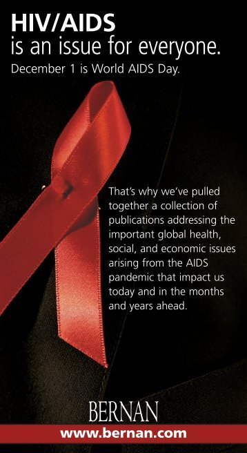 HIV/AIDS - Bernan