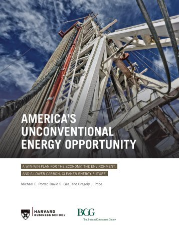 America's Unconventional Energy Opportunity-HBS-BCG