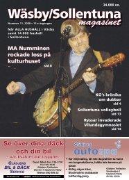 Väsbyjournalen nr 11, 2008 - Vädret Upplands-Väsby
