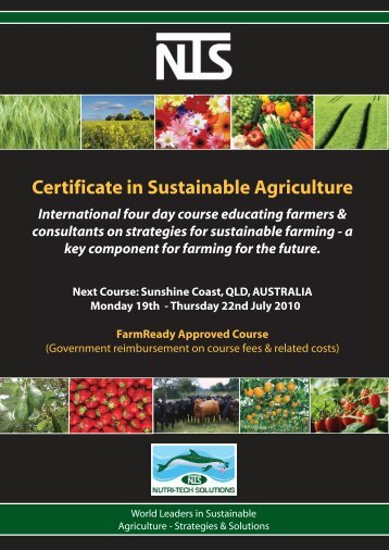 NTS Certificate in Sustainable Agriculture - July 2010.pdf