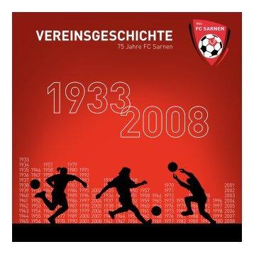 VEREINSGESCHICHTE - FC Sarnen