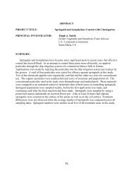 Springtail and Symphylans Control - California Leafy Greens ...
