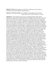 Wintermantel Tombusvirus Report - California Leafy Greens ...
