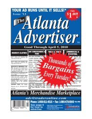 The Atlanta Advertiser Contact Directory Find Our Regular Print ...