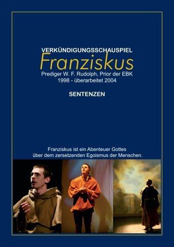 Sentenzenheft: Franziskus pdf - EBK-Blumenmönche