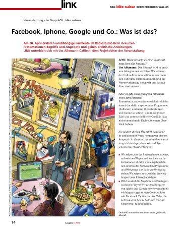 Facebook, Iphone, Google und Co.: Was ist das? - Ãœber uns