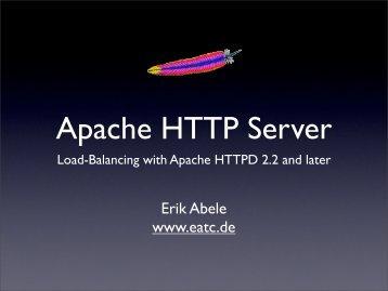 Erik Abele www.eatc.de - ApacheCon