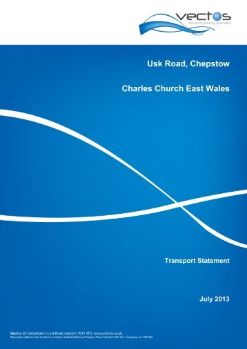 Usk Road, Chepstow Charles Church East Wales - Monmouthshire ...