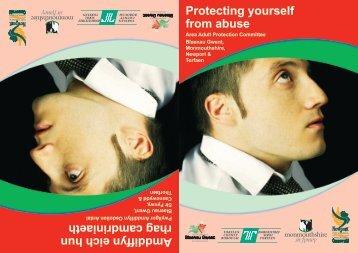 Protecting yourself from abuse Amddiffyn eich hun rhag camdriniaeth