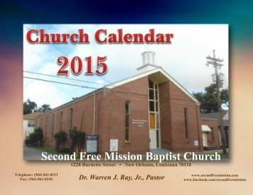 Second Free Mission Baptist Church