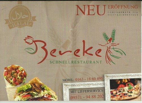 Bereket-Schnellrestaurant in Lichtenfels