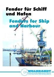 Fender für Schiff und Hafen Fenders for Ship and Harbour