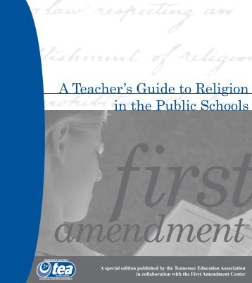 A Teacher's Guide To Religion - Tennessee Education Association