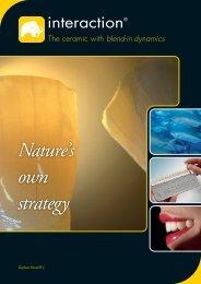 Interaction ® concept brochure
