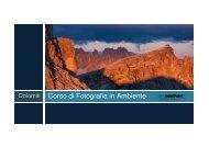 Dolomiti Corso di Fotografia in Ambiente - Idea Montagna
