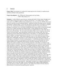 Methods for Rapid Diagnosis and Field Monitoring of ...