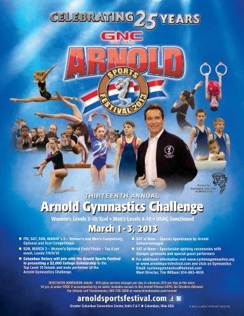 Arnold Gymnastics Challenge - Gahanna Cyclone Gymnastics