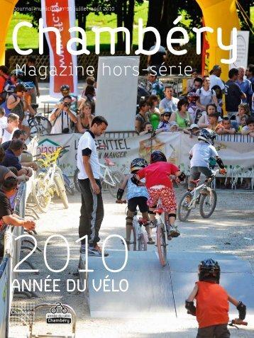 Magazine hors-série ANNéE DU VéLO - Ville de Chambéry