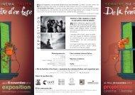 programme semaine italienne.indd - Ville de Chambéry