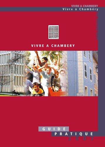 G U I D E P R A T I Q U E - Ville de Chambéry