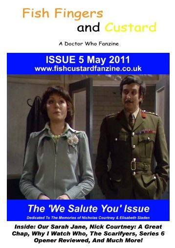 We'll Miss You - Fish Fingers and Custard Fanzine