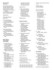 Fast Lane Lyrics Pdf