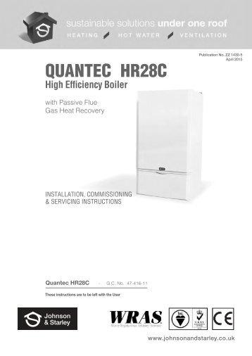 warmcair c26u johnson starley rh yumpu com Quantec Consulting Quantech Services