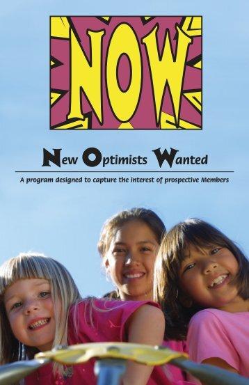 New Optimists Wanted - Uptown Optimist Club