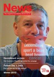 Winter News 2013 - Beating Bowel Cancer