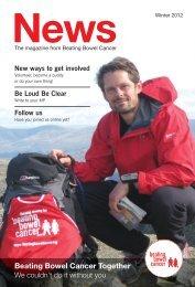 Winter News 2011 - Beating Bowel Cancer