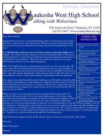 aukesha West High School - Waukesha School District