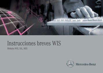 Instrucciones breves WIS - Retailfactory Daimler ITR - Mercedes-Benz