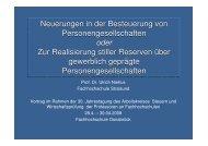 Vortrag Dr. Ulrich Niehus, FH Stralsund