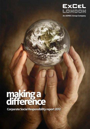 2012 CSR Brochure (PDF) - ExCeL London