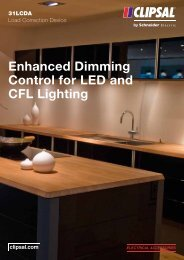 Enhanced Dimming Control for LED and CFL Lighting, 26847 - Clipsal