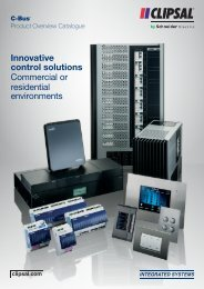 C-Bus Product Overview Catalogue, 22762 - Clipsal