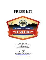 Press Kit - Mother Earth News