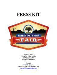Download the 2013 Puyallup, Wash., Fair Media Kit - Mother Earth ...