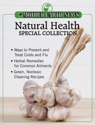 Natural Health Special Collection - Mother Earth News