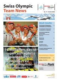 Swiss Olympic Team News - Gemeinde Arth Online