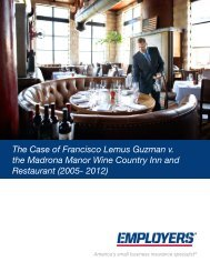 Download the Case Synopsis - Employers