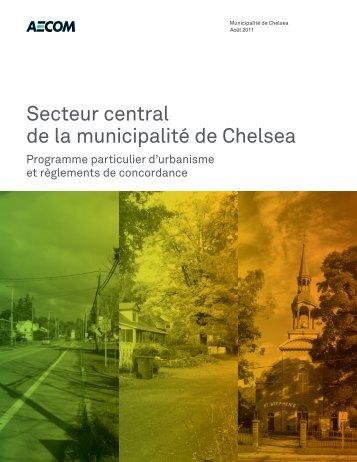 Secteur central de la municipalité de Chelsea