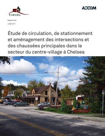 Étude de circulation, de stationnement et aménagement ... - Chelsea