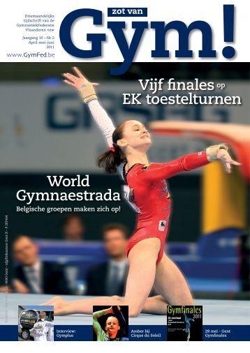 Vijf finalesop EK toestelturnen World Gymnaestrada - GymFed