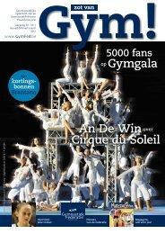 5000 fans op Gymgala An De Winover Cirque du Soleil - GymFed