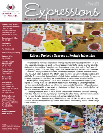 December 2012 • Volume 19, Issue 5 - Portage County Board of ...