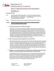 Provider Certification Rule Dodd Home Ohio Gov