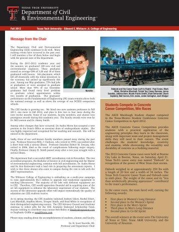 Alumni News - Texas Tech University